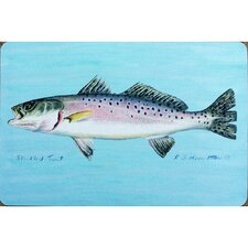 Coastal Speckled Trout Door Mat