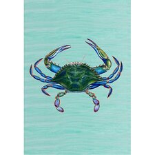 Male Blue Crab Vertical Flag