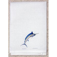 Coastal Blue Marlin Hand Towel