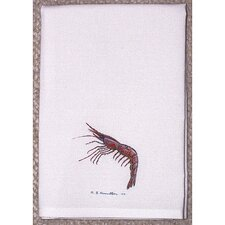 <strong>Betsy Drake Interiors</strong> Coastal Shrimp Hand Towel