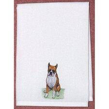 Pets Boxer Hand Towel (Set of 2)