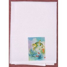 Coastal Sea Turtle Hand Towel