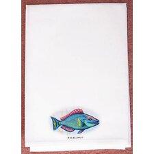 Coastal Parrot Fish Hand Towel (Set of 2)