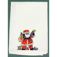<strong>Betsy Drake Interiors</strong> Holiday Santa Hand Towel