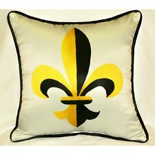 Garden Fleur-de-lis Indoor / Outdoor Pillow