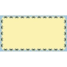 <strong>Betsy Drake Interiors</strong> Crab Rectangular Tablecloth