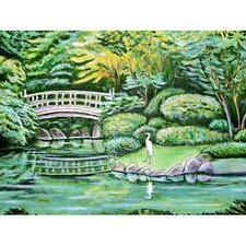 Garden Japanese Garden Outdoor Wall Hanging