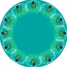 Peacock Round Tablecloth