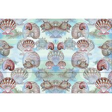 <strong>Betsy Drake Interiors</strong> Coastal Shells Door Mat