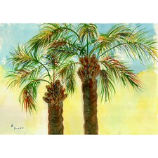 Coastal  Palms Door Mat