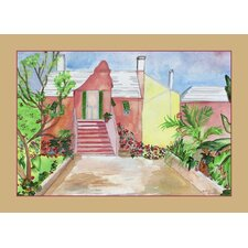 Orange House Placemat (Set of 4)