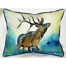 Lodge Elk Indoor / Outdoor Pillow