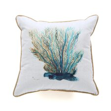 Coastal Coral Indoor / Outdoor Pillow