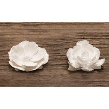 2 Piece Loose Flowers Figurine