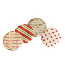 Capiz Holiday Plate (Set of 4)