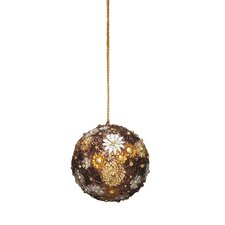 <strong>Dekorasyon Gifts & Decor</strong> Bloomsbury Ball Ornaments (Set of 2)