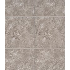 "3-Piece Grouted Style Luxury 12"" x 36"" Vinyl Tile in Venetian Sand"