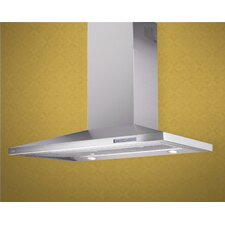 "36"" 700 CFM Low Profile Chimney Wall Hood"