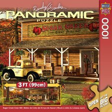 Sugar Creek Cider Mill Panoramic Puzzle