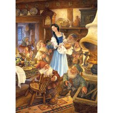 <strong>MasterPieces</strong> Snow White and the Seven Dwarves Puzzle