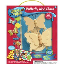 <strong>MasterPieces</strong> Works of Ahhh Butterfly Wind Chime Wood Paint Kit