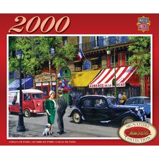 Kevin Walsh Streets of Paris 2000 Piece Jigsaw Puzzle