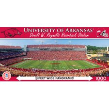 NCAA College Stadiums Panoramic 1000 Piece Jigsaw Puzzle