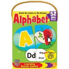 Alphabet Game 52 Piece Jigsaw Puzzle
