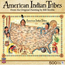 American Indian Tribes 500 Piece Jigsaw Puzzle