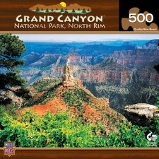 <strong>MasterPieces</strong> National Park Grand Canyon North Rim 500 Piece Jigsaw Puzzle