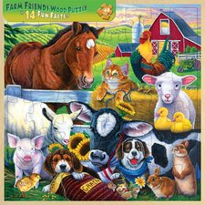 Jenny Newland Farm Friends 48 Piece Jigsaw Puzzle