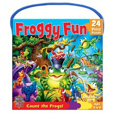 Froggy Fun 24 Piece Jigsaw Puzzle