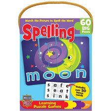 Spelling Matching Game 60 Piece Jigsaw Puzzle