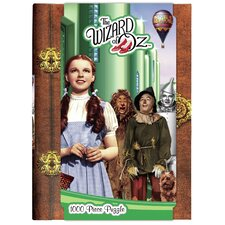 Wizard of Oz Emerald City 1000 Piece Jigsaw Puzzle
