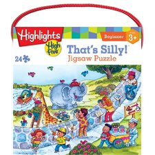 Highlights That's Silly 24 Piece Jigsaw Puzzle