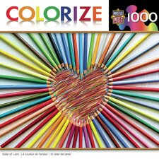 <strong>MasterPieces</strong> Colorize Color of Love 1000 Piece Jigsaw Puzzle