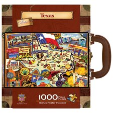Kate Ward Thacker Texas 1000 Piece Jigsaw Puzzle