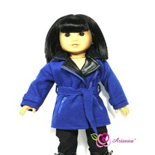 "<strong>Arianna</strong> No Turnimg Back Coat for 18"" American Girl Doll"