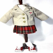 "4 Doll Studious Me School Uniform for 18"" American Girl Doll"