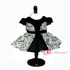 "<strong>Arianna</strong> Tribal Chic Party Dress for 18"" American Girl Doll"