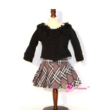 "<strong>Arianna</strong> Classic Fall Outfit for 18"" American Girl Doll"