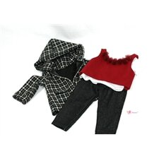 "Weekend Tweed Outfit for 18"" American Girl Doll"