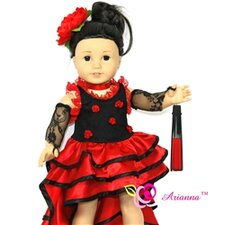 "Nina Flamenco Doll Outfit for 18"" American Girl Doll"