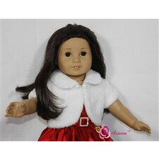 "Noel Holiday Doll Dress for 18"" American Girl Doll"