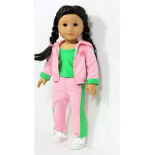 "On The Go Outfit for 18"" American Girl Doll"