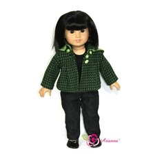 "<strong>Arianna</strong> Urban Chic Fits 18"" American Girl Doll"