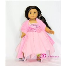 "Little Miss Dreamer Fits 18"" American Girl Doll"