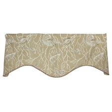 <strong>RLF Home</strong> Sea Shells Shaped Cotton Curtain Valance