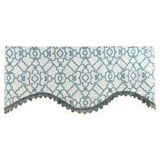 Garden Gate Shaped Cotton Curtain Valance