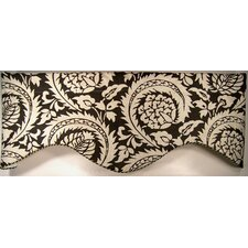 Lisbon Shaped Cotton Curtain Valance